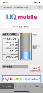 データ残量6月10日