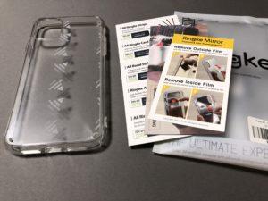 iPhone11 クリアケース